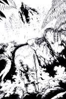 TOP COW TALENT HUNT 2012 - pencils/inks by RONJOSEPH-ARTIST