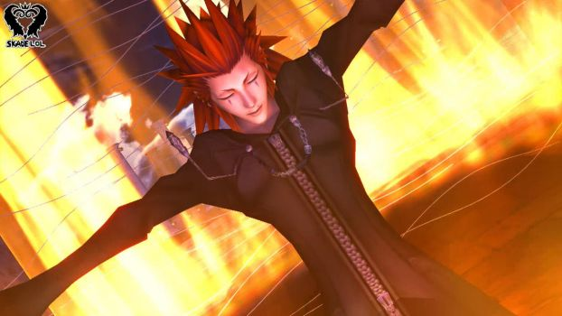 [MMD: KH] Axel - Feels so Good to be Bad by Skadelol