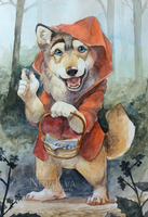 Red Riding Hood... or not by Nordeva