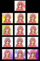 Kirby -Expressions- by Anigirl5