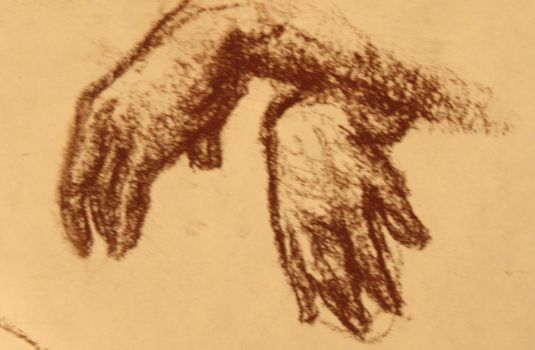 Quick Sketch- Hands by lennydoll