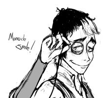 Monocle smile -v2- by geggidy