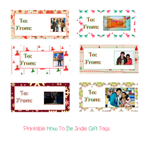 Printable How To Be Indie Christmas Gift Tags by iluvlouis