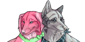 DisturbedVoid Double Icon Commission by mistywren