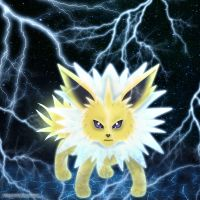 Jolteon by Mayayui