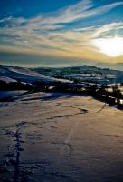 Snowbound Wales by Laurence-CE
