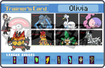 My Pokemon White Trainer Card by whitebengal14