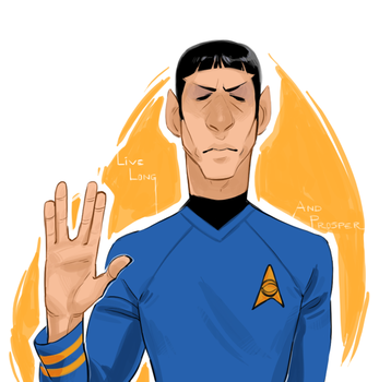 LIVE LONG AND PROSPER by AgentDax