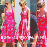 Candid Taylor Swift by Day-Horan