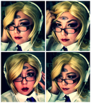 Cosplay Test: Cecilia - Welcome to Nightvale by Eliy-Anthus
