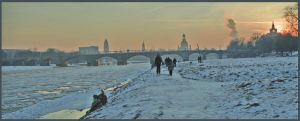 Winter in Dresden 02 by Dryhand58