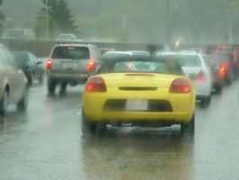 Yellow car is Surprised by Draconian-Doxology