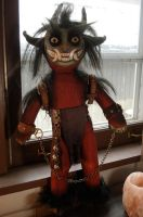 Krampus Doll 2 by missmonster