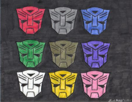 Multicolored Autobots by SheiBKroeker