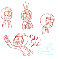 More Turbo Doodles :P by Poulterghiest