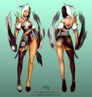 Blade and Soul Costume Contest: Girl by Lagunis