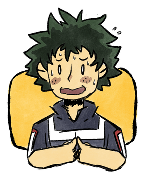 He can be a hero too by WaywardDoodles