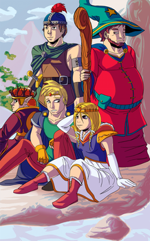 Princess Kenny and the Fighters of Zarron! by Princrim