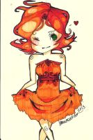 Flame princess by TravelersDaughter