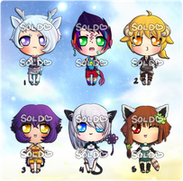 Kemonomimi Adopts [Sold Out!] by reincarnationz