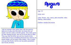 August's Profile by sagethemouse