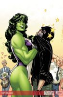 SheHulk  IN LIVIN COLOR by BroHawk