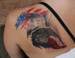 Eagles tattoo :) by bleftattoo