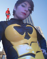 the amazing colossal Janet Van Dyne aka Wasp by Lawrence84