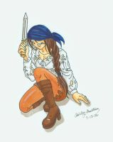 Yo Ho A Pirates Life for Me by Ryoko-and-Yami
