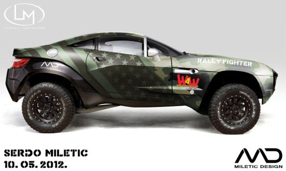 Local Motors - Rally Fighter by Morfiuss