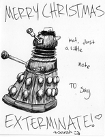 Don't Exterminate my Christmas by sunshineley
