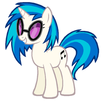 Vinyl Scratch by Durpy