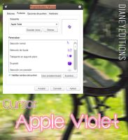 Cursor Apple Violet by Dianeyeditions