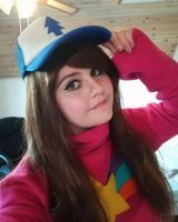 Mabel Pines Cosplay | I got your hat,Dippy~! by Shadeila