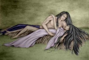 His Woman Colored by sarlume
