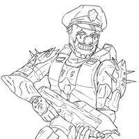The Gayest Halo 3 Armor by Methados