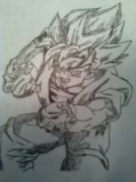 Goku by IntoTheNothing