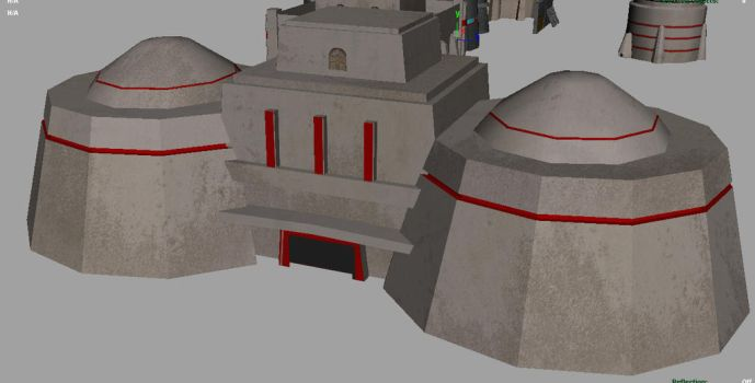 mid poly building from  a game by 3rdoption