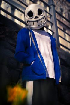 Undertale_Sans_Cosplay 03 by Hiniha