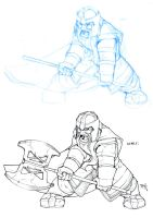 Gimli by SuperUndiesMan