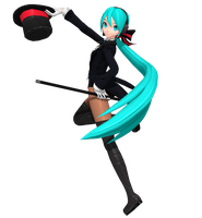 Dreamy Theater Extend: Magician Miku by Tuni-kun