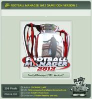 Football Manager 2012 Icon v2 by CODEONETEAM