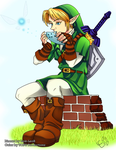Link - Ocarina of Time by Link-LeoB