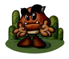 Goomba Fella by Bergholtz