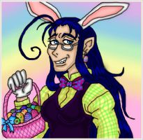 Easter Bunny by kaitlynrager
