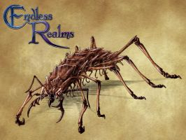Endless Realms bestiary - Acrimite by jocarra