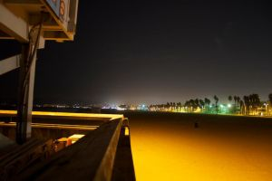 Venice beach at night by Uncle-Gus