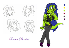 Serena Reference Sheet by TromboneGothGirl84