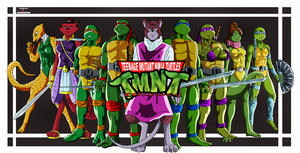 TMNT-COWABUNGA by joshdancato