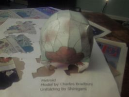 Metroid Papercraft by gpsc